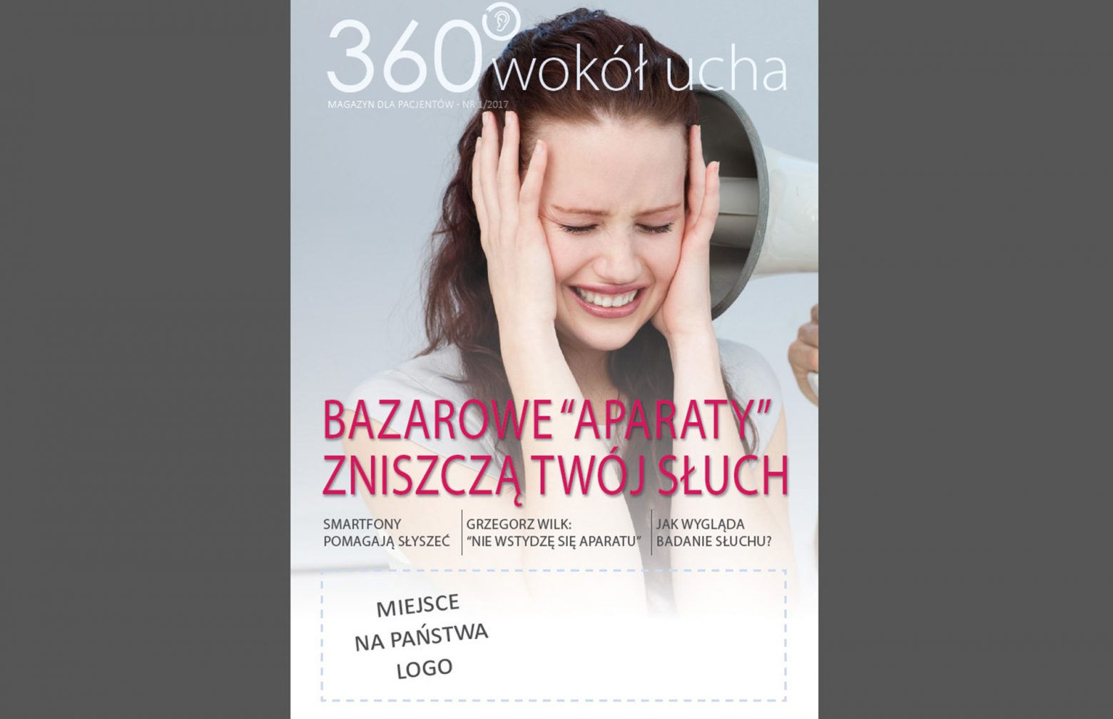 hearing health awareness magazine by Sivantos Poland