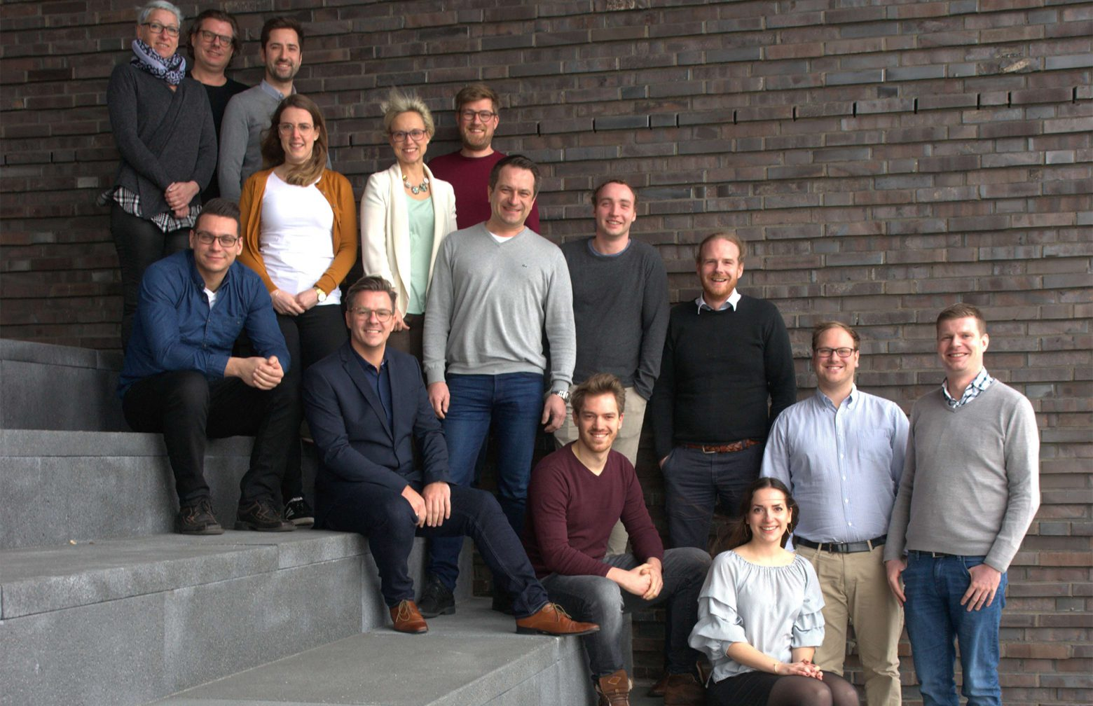 audibene participants at the innovation campus in Mainz