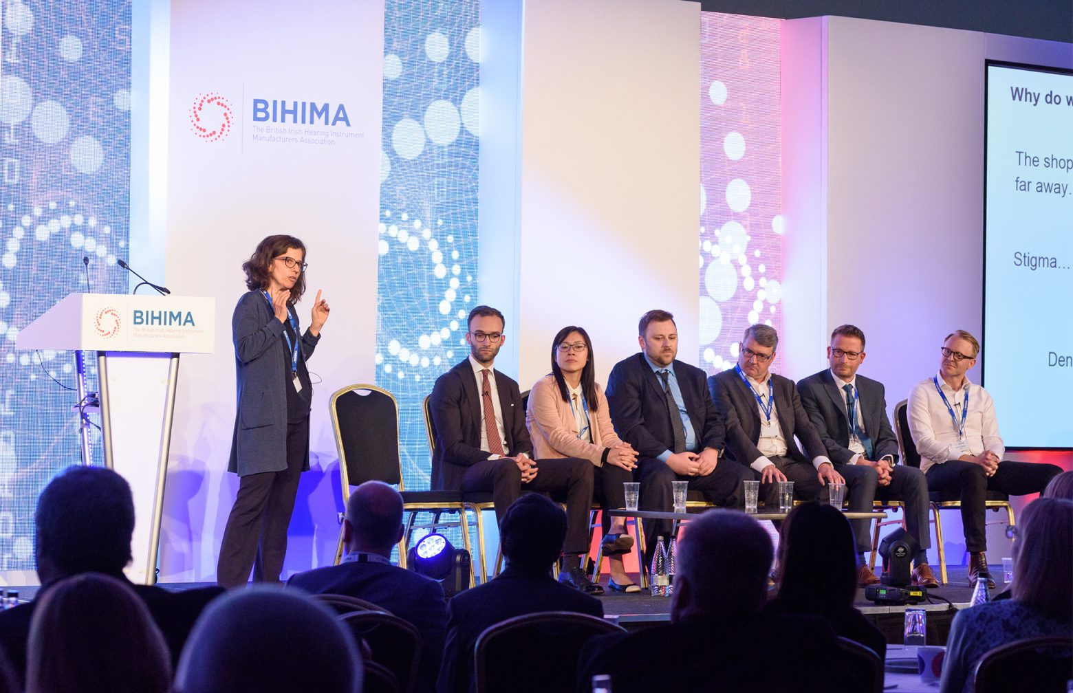 Researchers at the BIHIMA conference